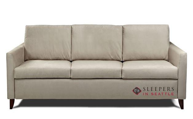 American Leather Harris Leather Queen Plus Comfort Sleeper
