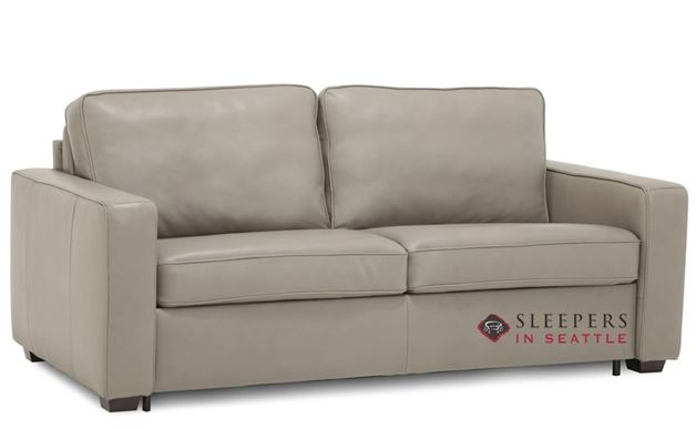 Palliser Kildonan CloudZ Full Top-Grain Leather Sleeper Sofa