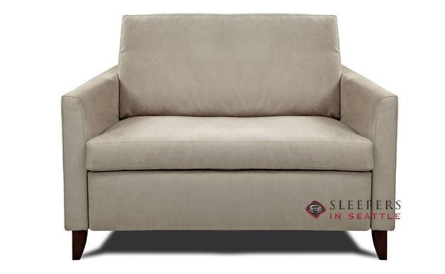 American Leather Harris Leather Twin Comfort Sleeper