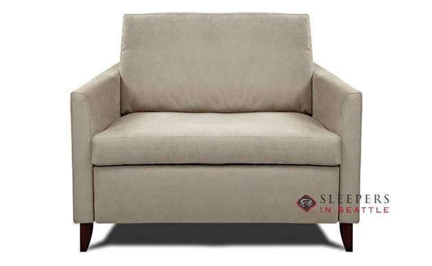 American Leather Harris Leather Chair Comfort Sleeper