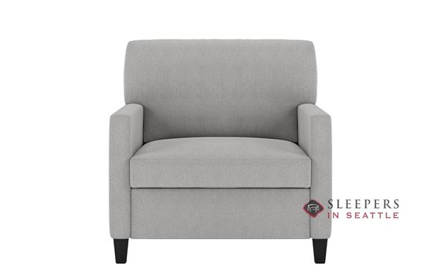 American Leather Conley Leather Chair Comfort Sleeper