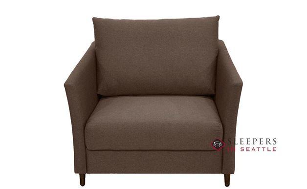 Luonto Erika Sleeper Sofa in Barcelona 50 Brown (Chair)