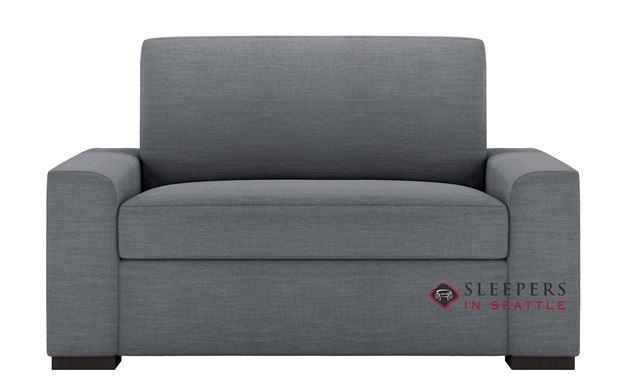 American Leather Olson Low Leg Leather Twin Comfort Sleeper