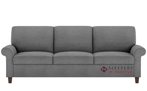 American Leather Gibbs Low Leg Leather King Comfort Sleeper