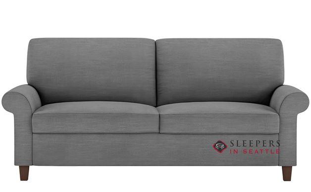 American Leather Gibbs Low Leg Leather Queen Comfort Sleeper