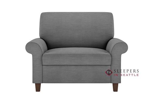 American Leather Gibbs Low Leg Leather Twin Comfort Sleeper