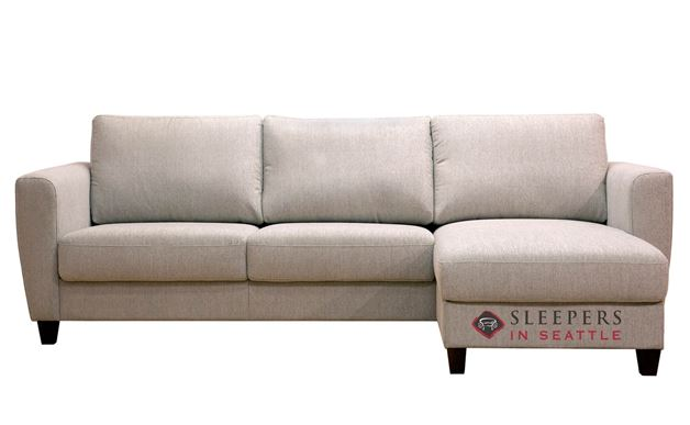 Flex Chaise Sectional Full Sleeper Sofa by Luonto