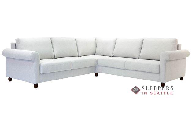 Flex True Sectional Full Sleeper Sofa by Luonto