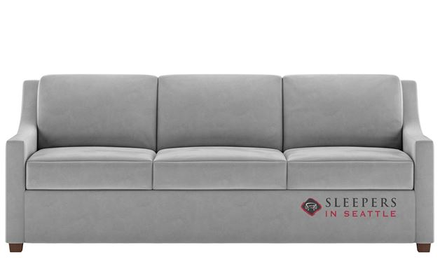 American Leather Perry Leather King Comfort Sleeper
