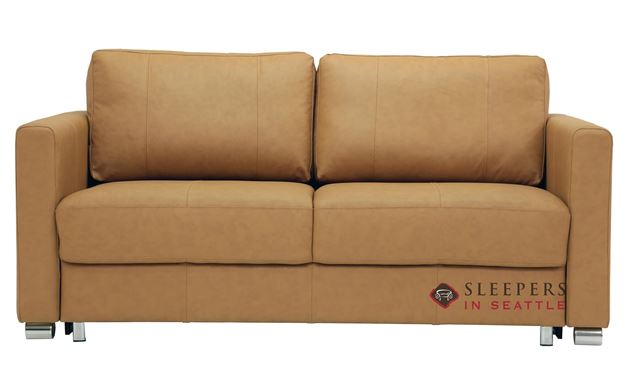 Luonto Fantasy II Queen Leather Sleeper Sofa