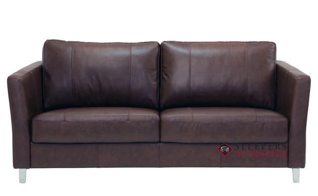 Monika Queen Leather Sleeper Sofa by Luonto