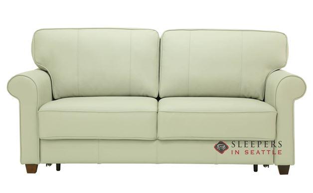 Luonto Casey Queen Leather Sleeper Sofa