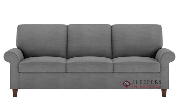 American Leather Gibbs Low Leg Leather Queen Plus Comfort Sleeper