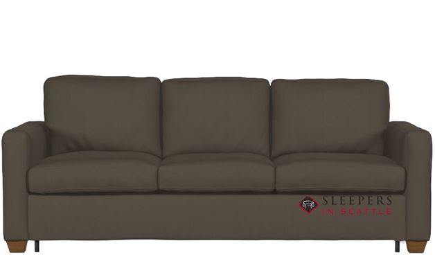 Palliser Kildonan Cloudz Queen Sleeper Sofa in Dax Taupe