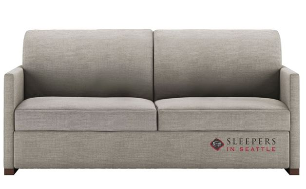 Quick Ship Pearson Queen Fabric Sofa By American Leather