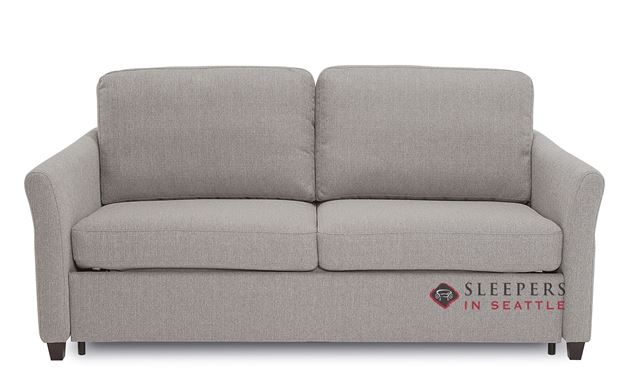 Palliser Madeline CloudZ Full Top-Grain Leather Sleeper Sofa