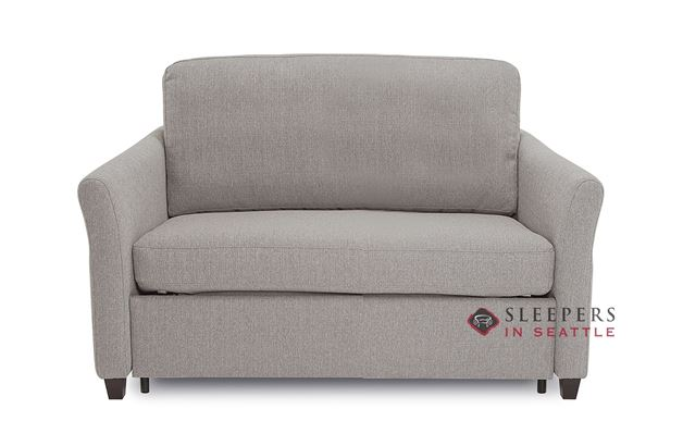 Palliser Madeline CloudZ Twin Top-Grain Leather Sleeper Sofa