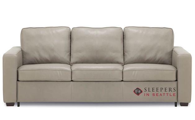 Palliser Anya CloudZ Queen Top-Grain Leather Sleeper Sofa