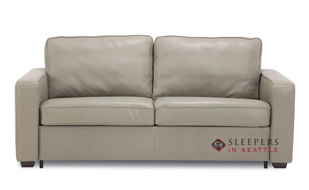 Palliser Anya CloudZ Full Top-Grain Leather Sleeper Sofa
