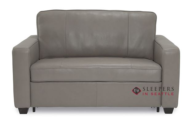 Palliser Anya Cloudz Top Grain Leather Twin Sleeper Sofa