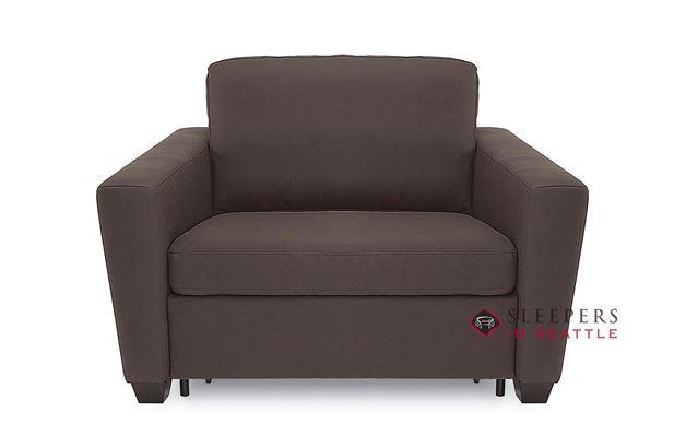 Palliser Wyn CloudZ Twin Top-Grain Leather Sleeper Sofa