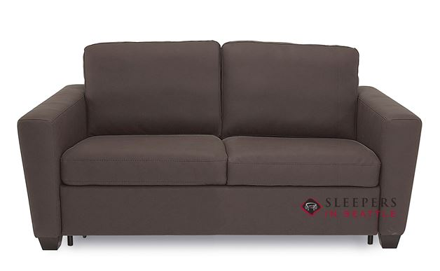 Palliser Wyn CloudZ Full Top-Grain Leather Sleeper Sofa