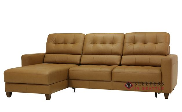 Luonto Noah Chaise Sectional Full XL Sleeper Sofa