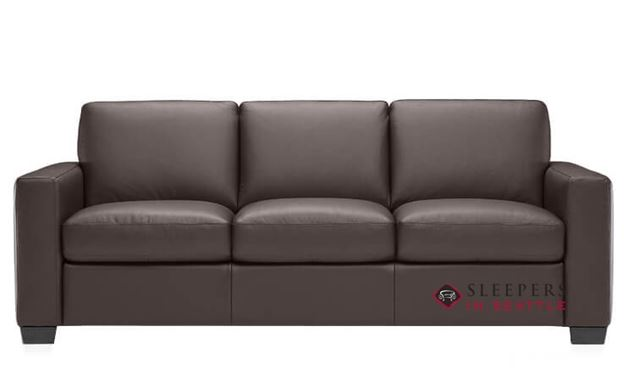 Natuzzi B534 Sleeper in Denver Brown (Queen)