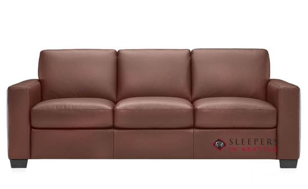 Natuzzi B534 Sleeper in Bari Chestnut (Queen)