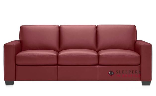 Natuzzi B534 Sleeper in Le Mans Bordeaux (Queen)
