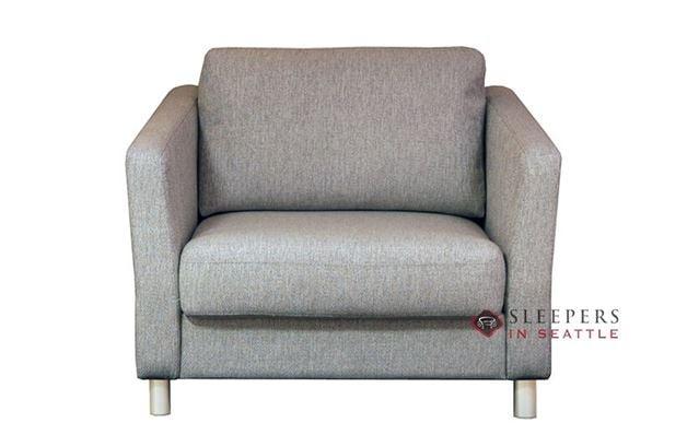 Monika Chair Sleeper by Luonto in Fun 496