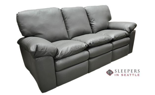 Omnia El Dorado Full Leather Sleeper Sofa