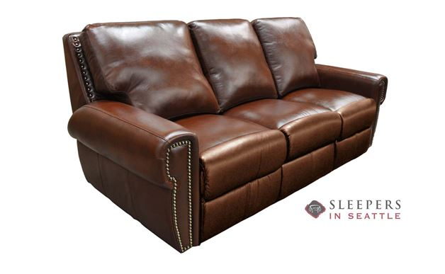 Omnia Bismarck Leather Sofa