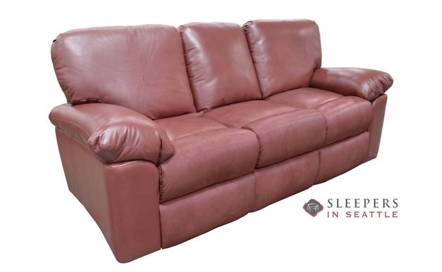 Omnia El Cajon Leather Sofa