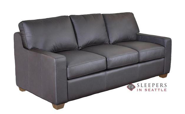 Omnia Dream Maker 102 Queen Leather Sleeper Sofa