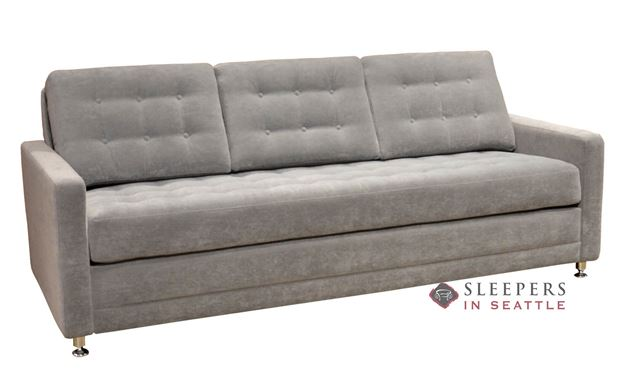 Dreamsations 106 Queen Leather Sleeper Sofa by Omnia