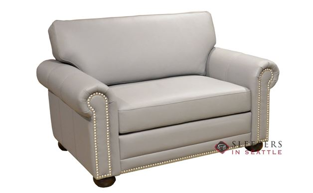 Omnia Dreamsations 104 Chair Leather Sleeper Sofa