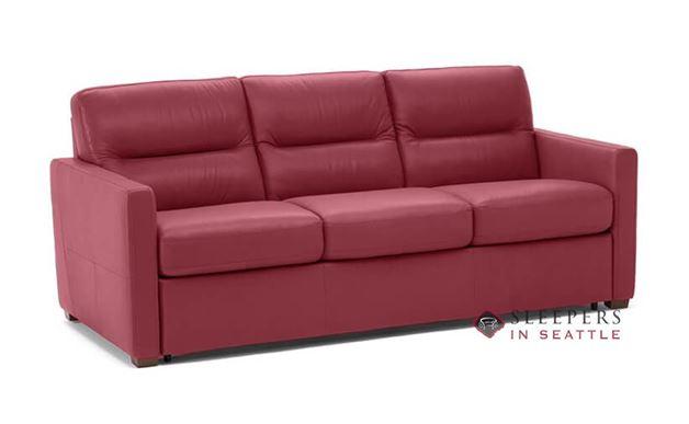 Natuzzi Editions Conca Sleeper Sofa in Denver Red (Queen) (C010-530)