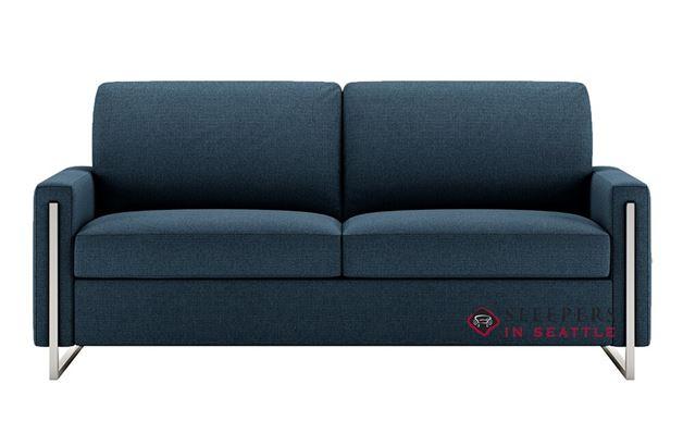 American Leather Sulley Queen Comfort Sleeper in Clover Indigo