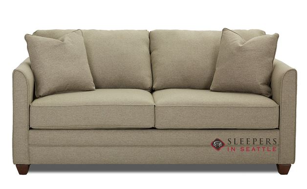 Valencia Full Sleeper Sofa by Savvy in Max Stone