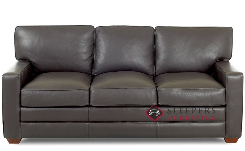 Savvy Waltham Leather Sleeper (Queen)