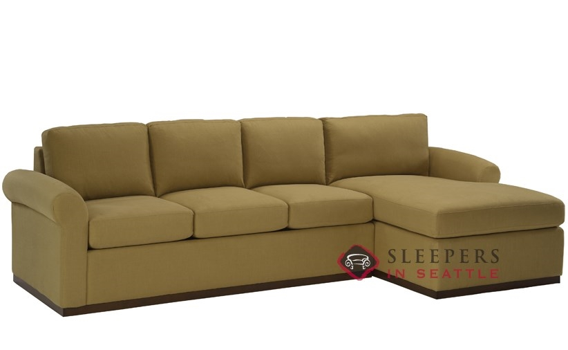 Customize And Personalize Eclipse Chaise Sectional Fabric Sofa By