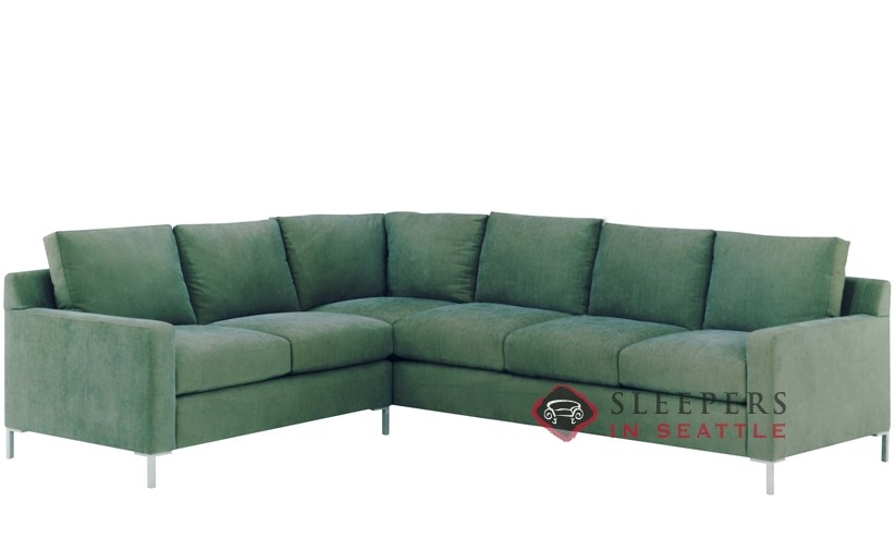Customize and Personalize Soho True Sectional Fabric Sofa by Lazar