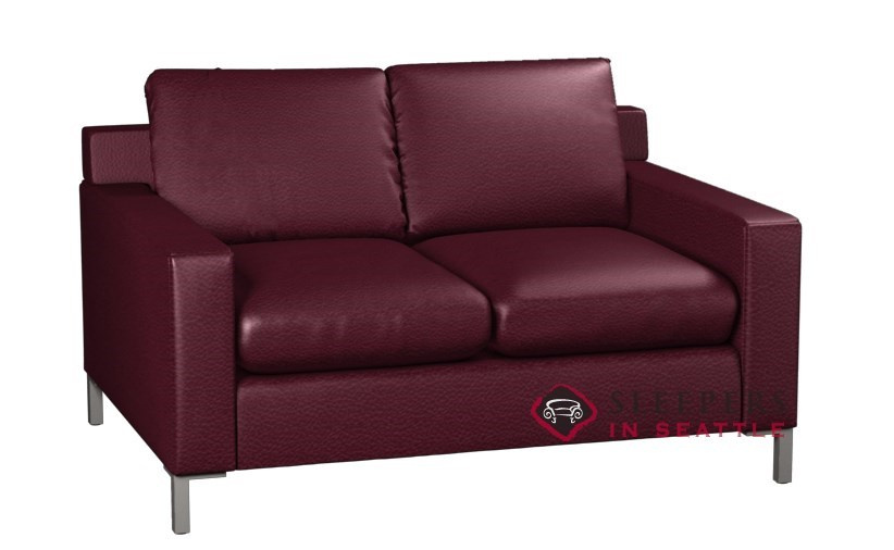 Customize and Personalize Soho Twin Leather Sofa by Lazar Industries ...