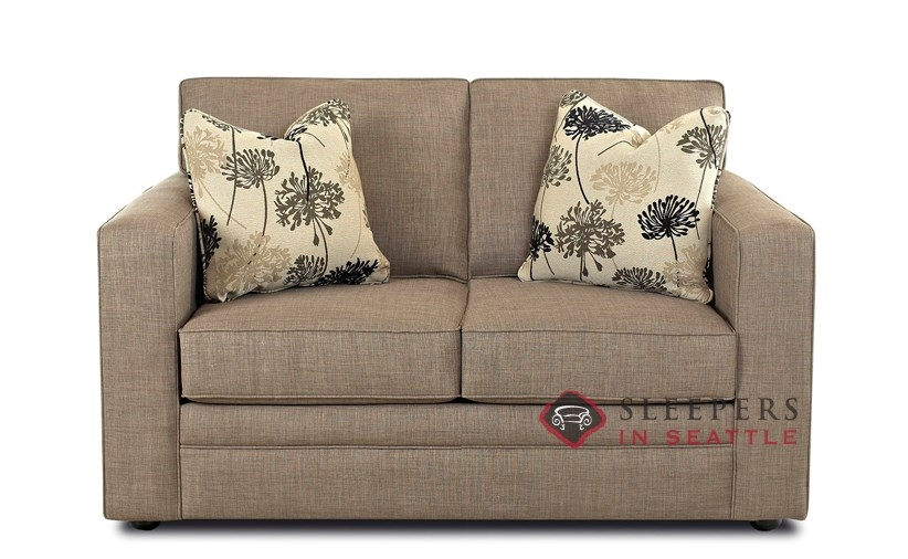 Customize and Personalize Boston Twin Fabric Sofa by Savvy Twin