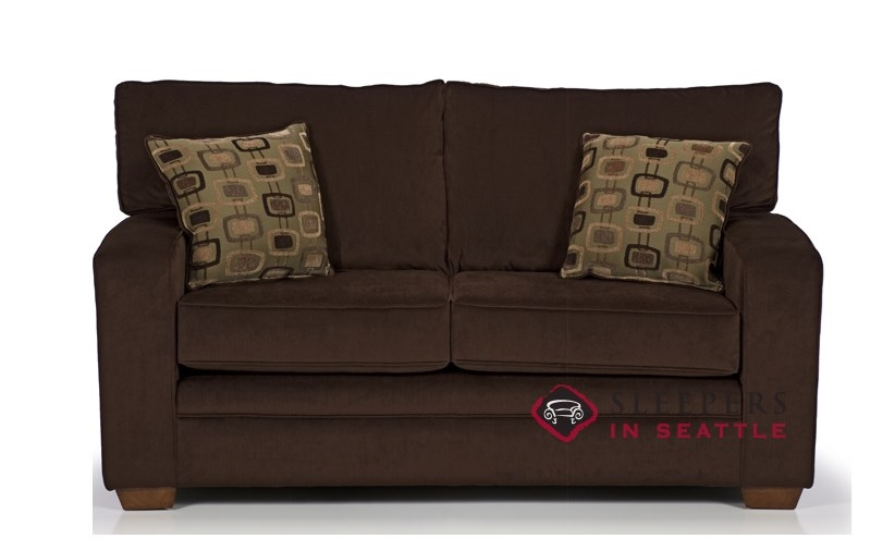 Customize And Personalize 670 Twin Fabric Sofa By Stanton
