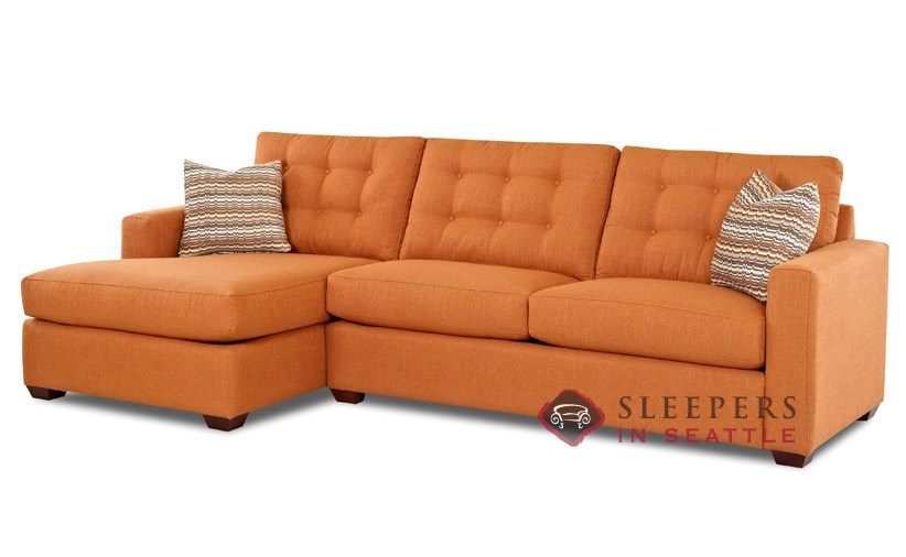 Savvy Liverpool Chaise Sectional Sleeper  sc 1 st  Sleepers In Seattle & Customize and Personalize Liverpool Chaise Sectional Fabric Sofa ... islam-shia.org