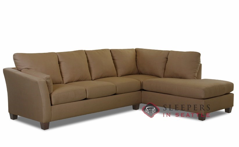 Beau ... Sienna Chaise Sectional Sleeper (Queen) ...