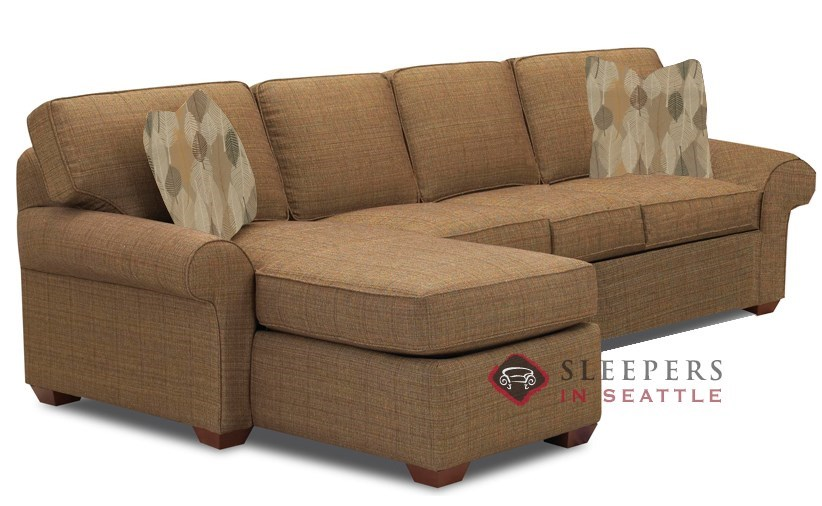 Savvy Seattle Chaise Sectional Sleeper
