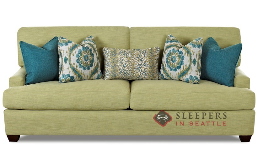 Customize and Personalize Hollywood Queen Fabric Sofa by Savvy